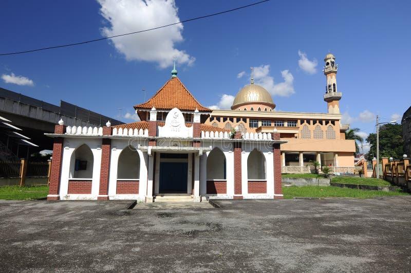 La vieille mosquée de Masjid Jamek Jamiul Ehsan a k un Masjid Setapak photographie stock libre de droits