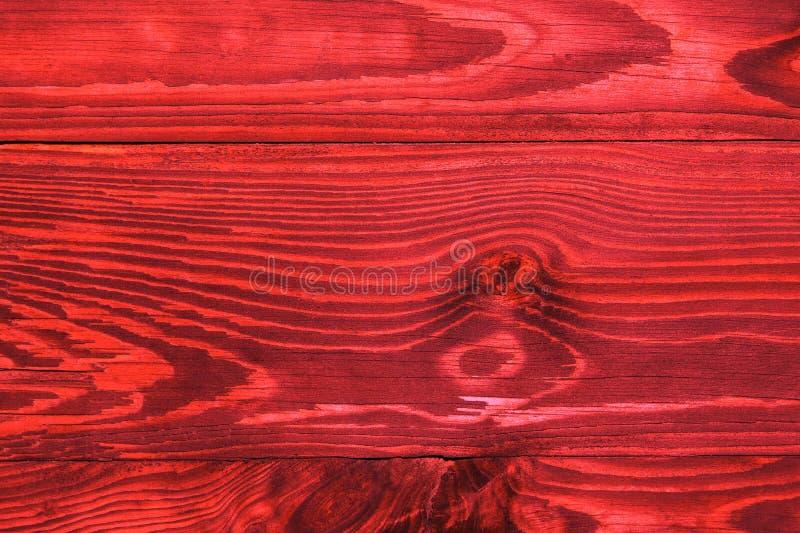 La vieille planche rouge, un fond images stock