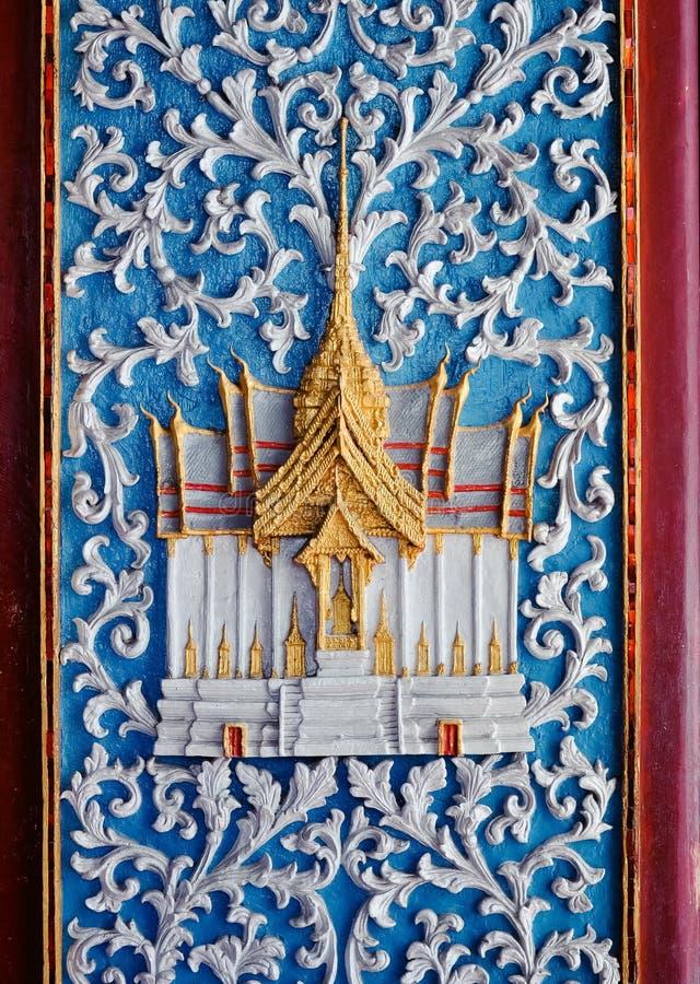 La vieille porte en Thaïlande photos libres de droits
