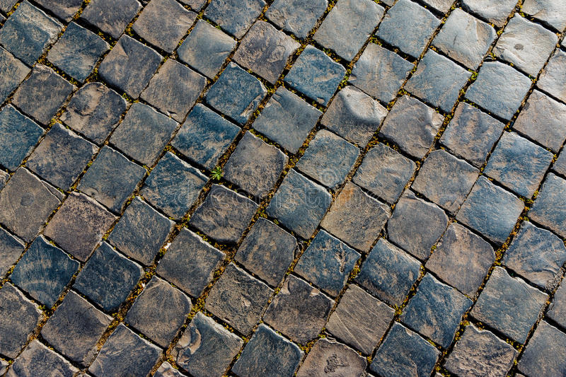 La vieille rue lapide le modèle photo libre de droits