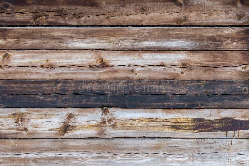 La vieille texture en bois avec les modèles naturels photographie stock