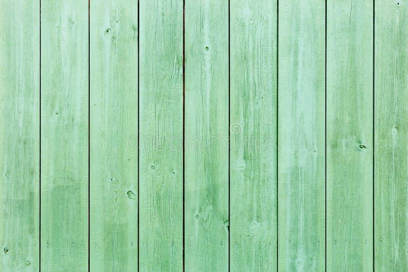 La vieille texture en bois verte avec les modèles naturels images libres de droits