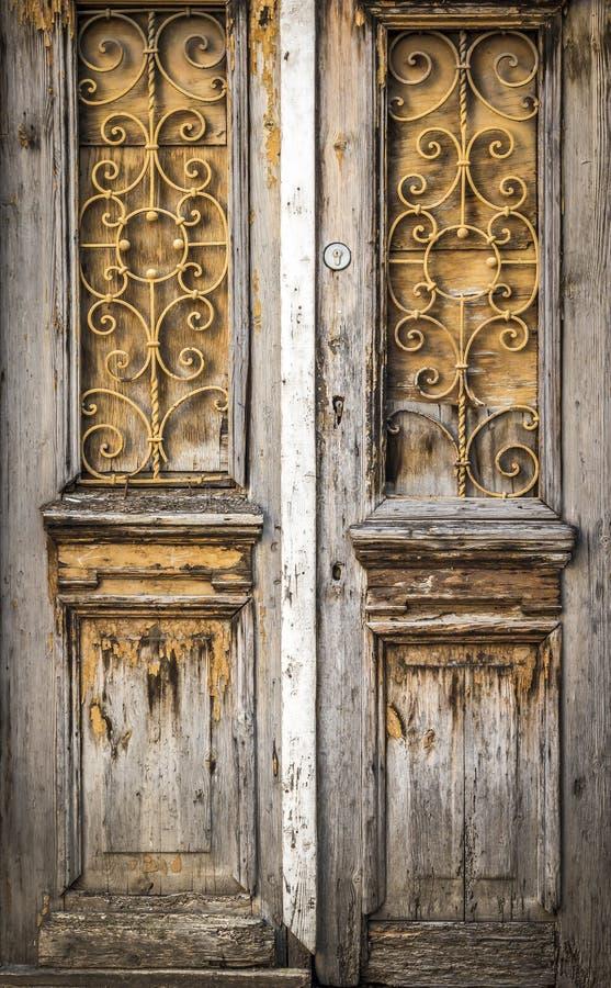 La vieille trappe en bois images libres de droits