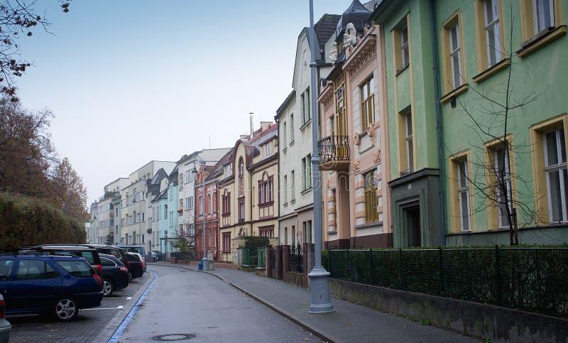 La vieille ville de Brno - place du centre photographie stock