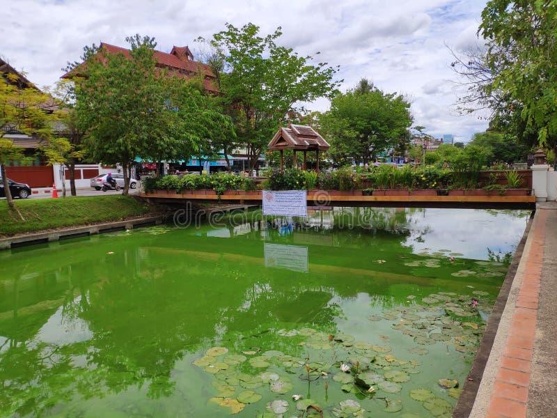 La vieille ville de Chiang Mai images stock
