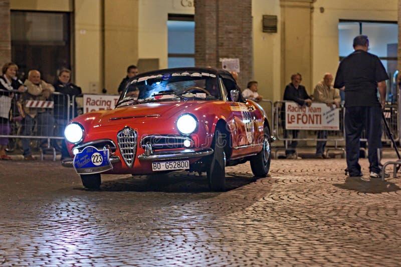 Araignée d'Alfa Romeo Giulia de cru photo stock