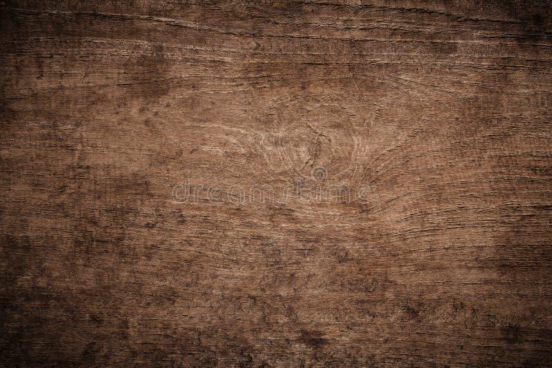 La vieja oscuridad del grunge texturizó el fondo de madera, la superficie de la vieja textura de madera marrón, revestimiento de  fotos de archivo libres de regalías