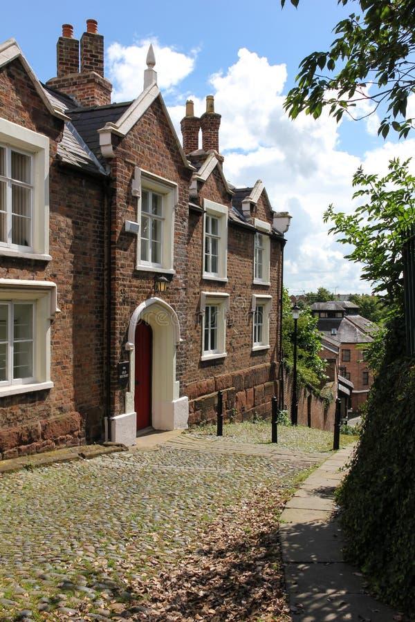 La vieja rectoría. Casa encantada. Chester. Inglaterra fotografía de archivo