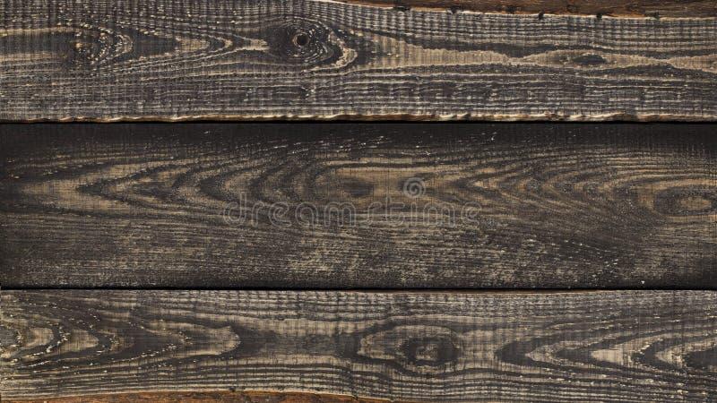 La vieja textura de madera marrón Vieja fondo de madera texturizado del grunge oscuridad fotografía de archivo libre de regalías