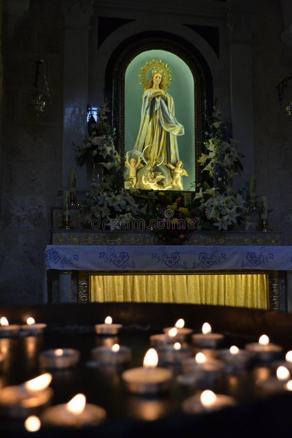 La Vierge Marie photo stock