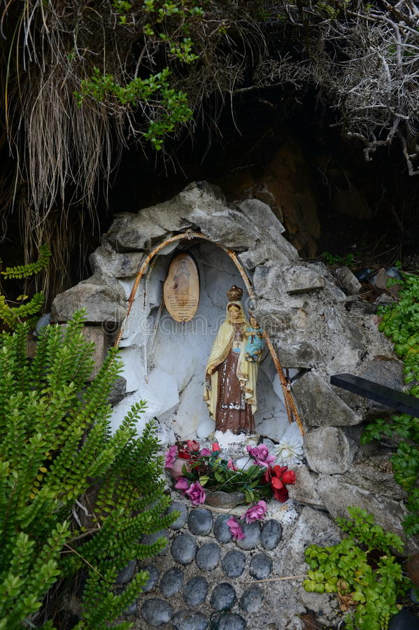 La Vierge Marie Mary chez le Cap Horn image stock