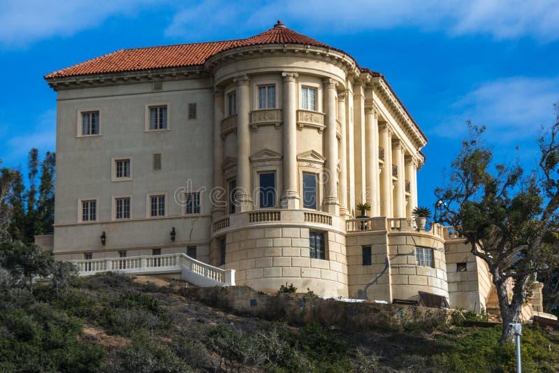 La villa di Getty immagine stock libera da diritti