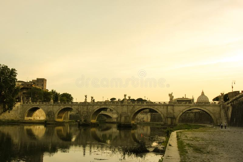 La ville éternelle de Rome photos stock