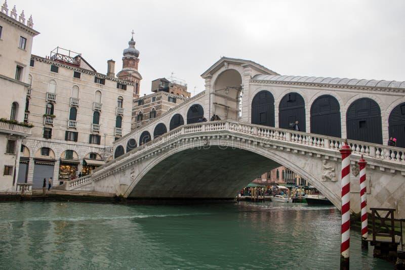 La ville étonnante de Venise image libre de droits