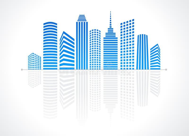 La ville illustration de vecteur