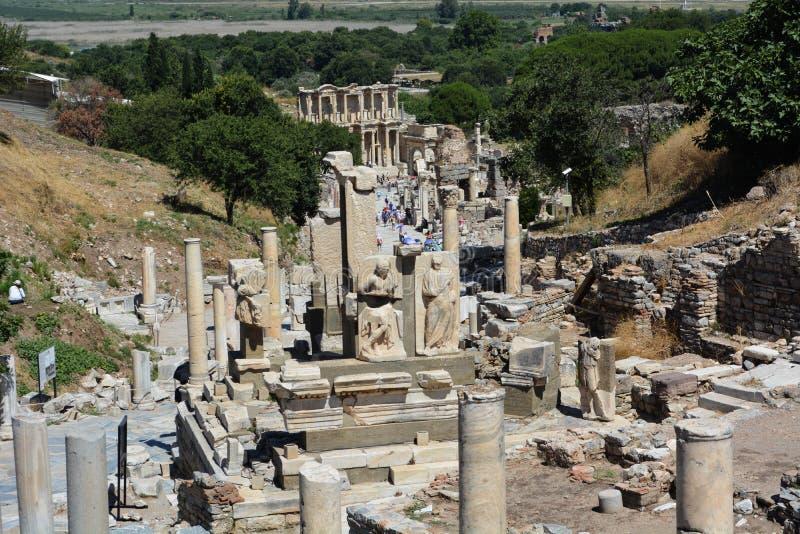 La ville antique d'Ephesus, Turquie photographie stock