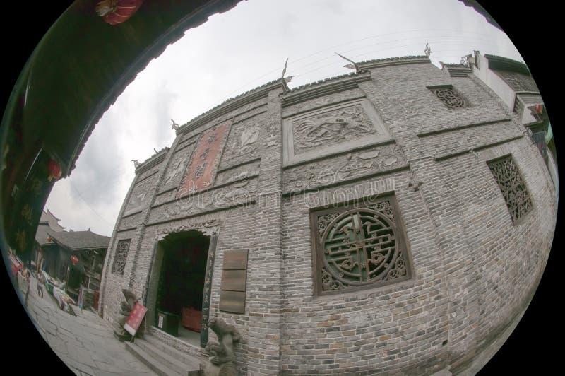 La Ville Antique De FuRong Photographie stock