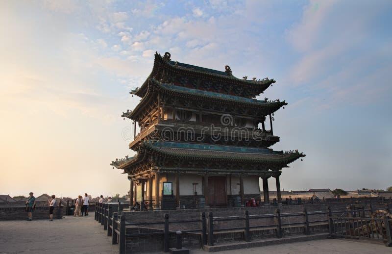 La ville antique de Ping Yao photo stock