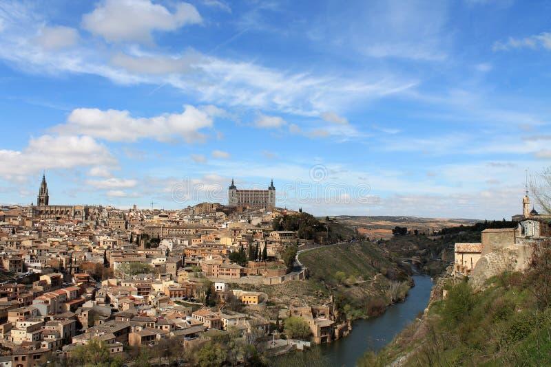 La ville antique de Toledo, Espagne photo stock