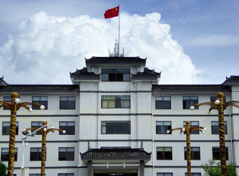 La ville antique du bâtiment de Xitang image libre de droits