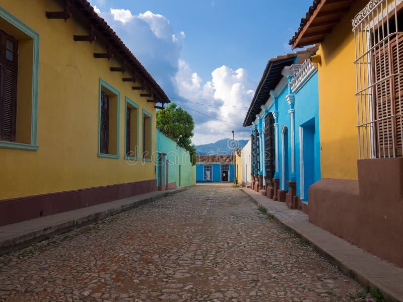 La ville coloniale du Trinidad dans CubaA photos libres de droits