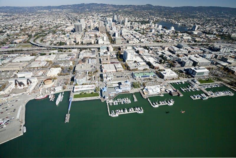 La ville d'Oakland image stock
