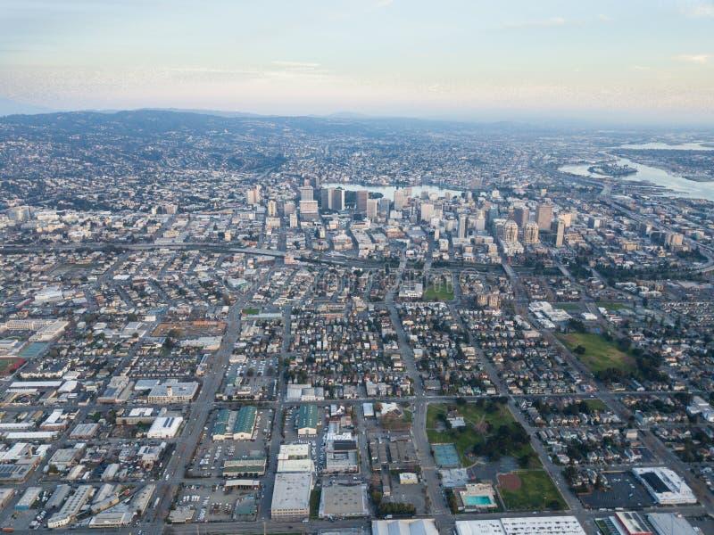 La ville d'Oakland, la Californie image libre de droits