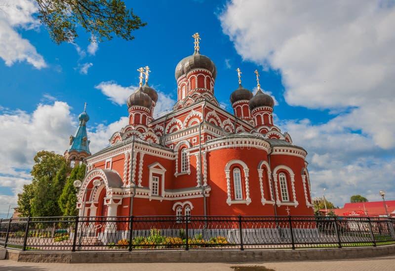 La ville de Barysaw, Belarus photographie stock