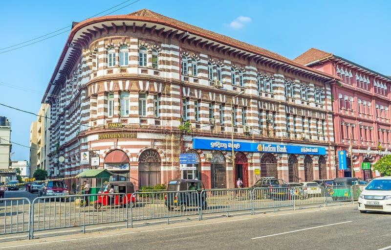 La ville de Colombo image libre de droits