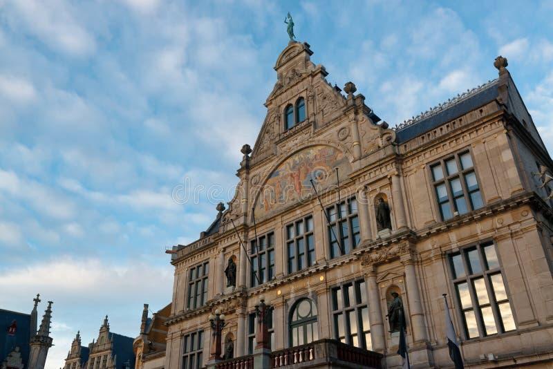 La ville de Gand en Belgique photos stock