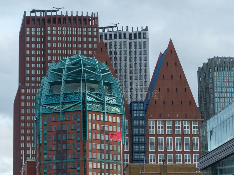 La ville de la Haye photographie stock libre de droits