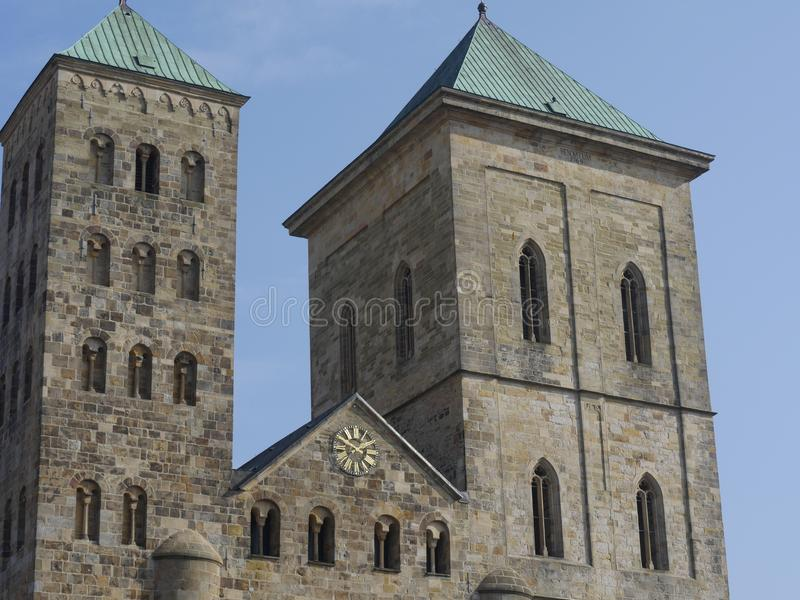 La ville de l'osnabrueck en Allemagne image libre de droits