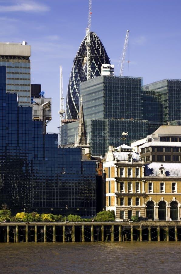 La ville de Londres image libre de droits