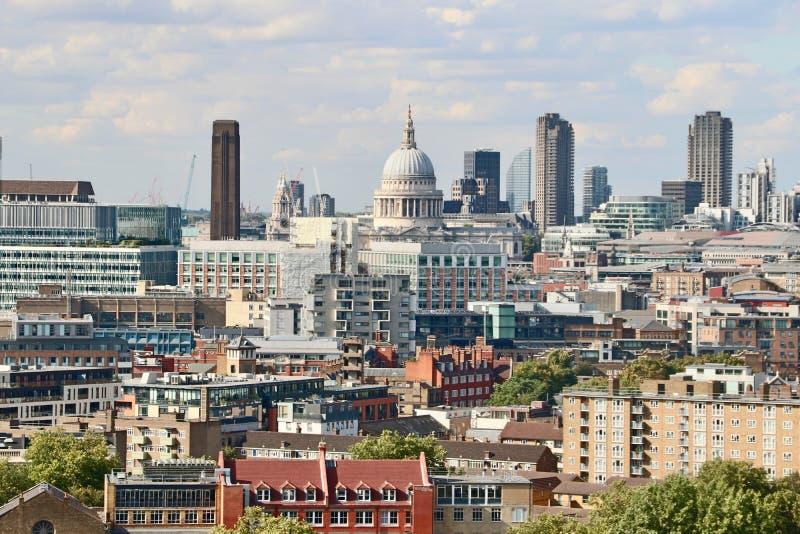 La ville de Londres - St Pauls Cathedral photo stock