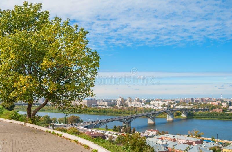 La ville de Nizhny Novgorod photos stock