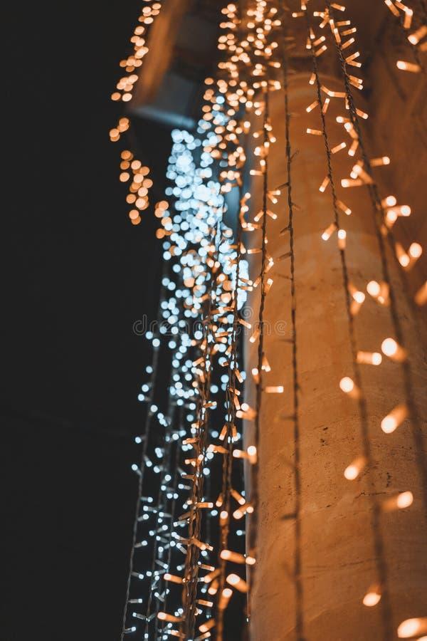 La ville de nuit photo libre de droits