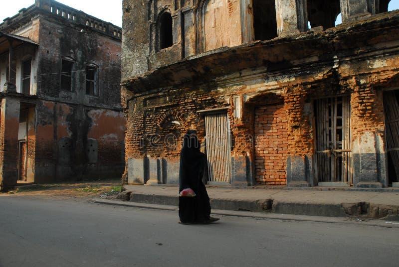 La ville de Pan Am est située chez Sonargaon, Narayanganj au Bangladesh images libres de droits
