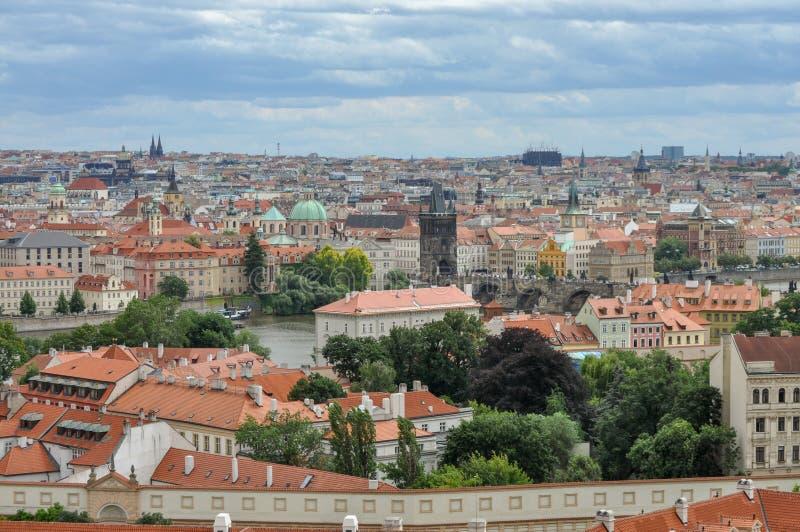 La ville de Prague, République Tchèque photo libre de droits