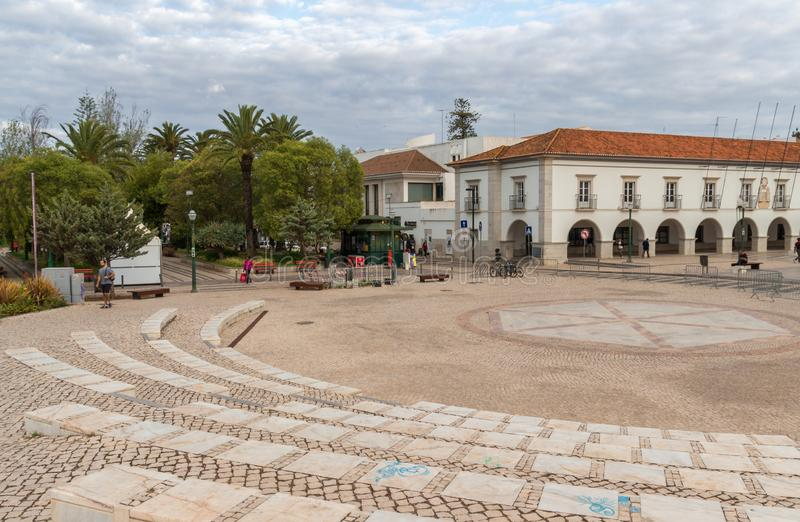 La ville de Tavira dans Algarve Portugal photo stock