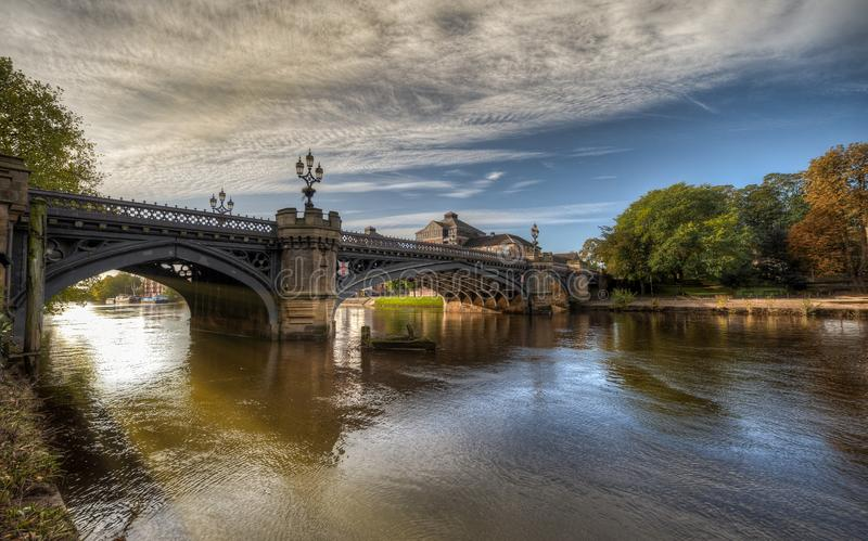 La ville de York au Royaume-Uni - Angleterre photos stock