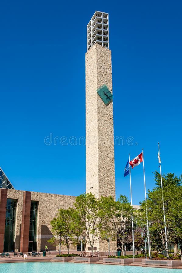 La ville hôtel d'Edmonton images libres de droits