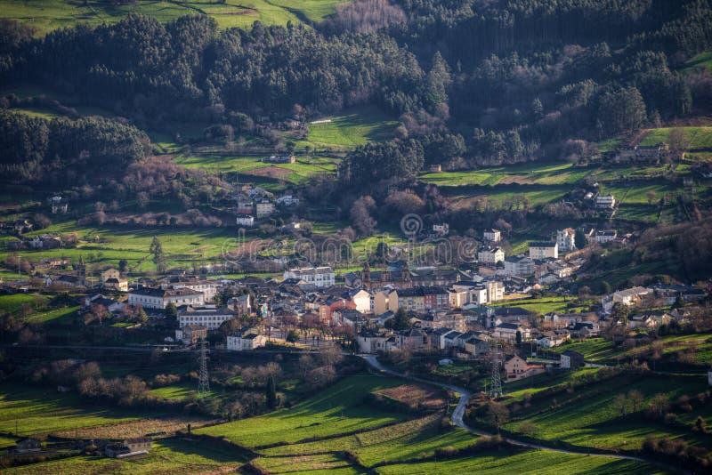 La ville historique de Mondoñedo image libre de droits