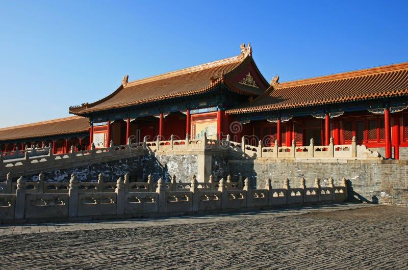 La ville interdite historique à Pékin photo libre de droits