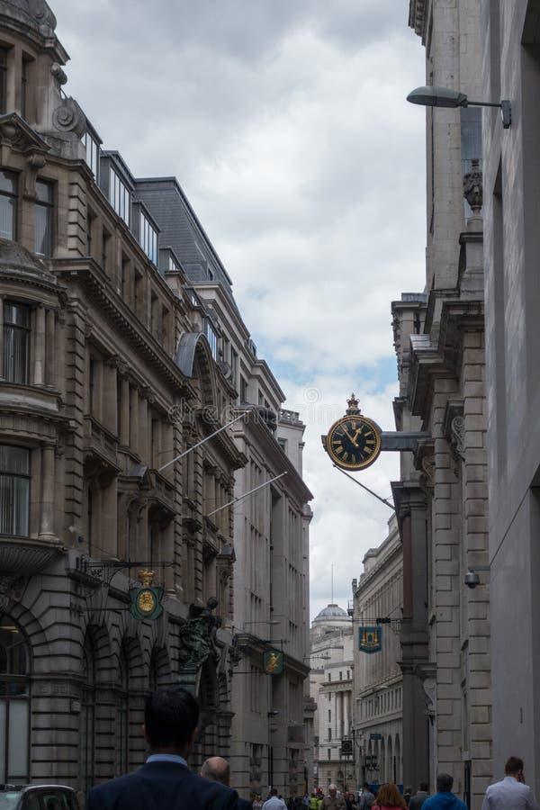 La ville, le secteur financier de Londres L'Angleterre et le Royaume-Uni Juin 2015 photos stock