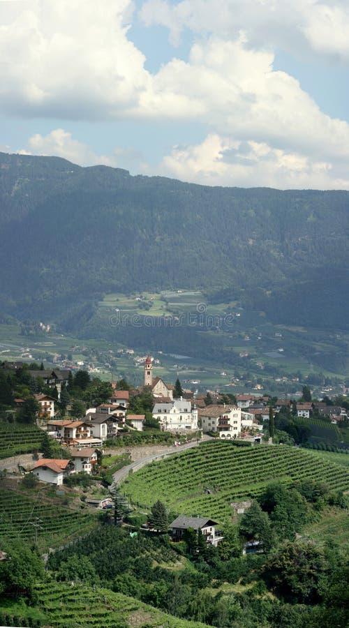La ville le Tirol images libres de droits