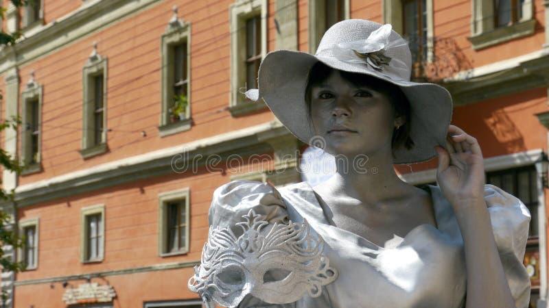 La ville Lviv en Ukraine images libres de droits