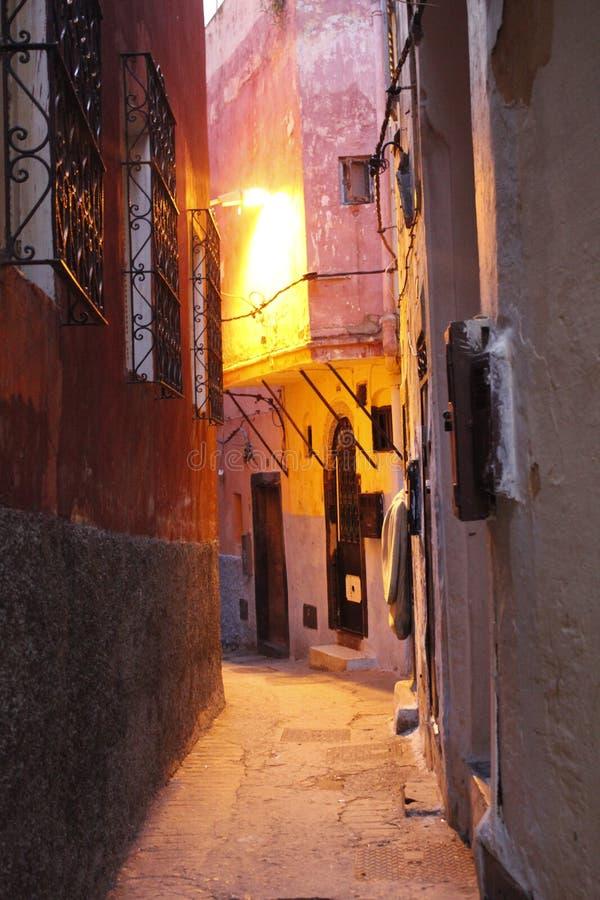 La ville marocaine de Tanger images stock