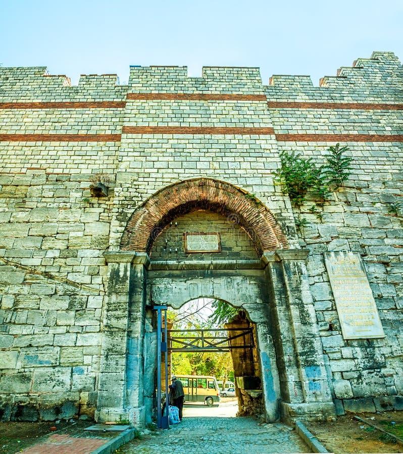 La ville mure Istanbul photos libres de droits