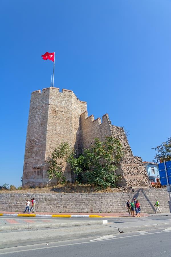 La ville mure Istanbul photos stock
