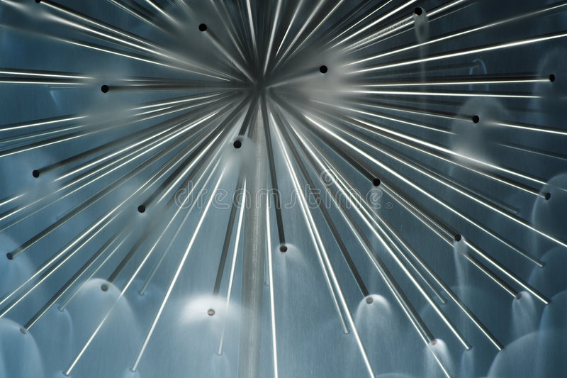 La visión abstracta lisa foto de archivo